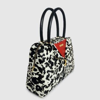 Duzie Classic Zip Down In Cheetah